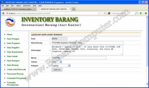 Program Simpan Data Barang