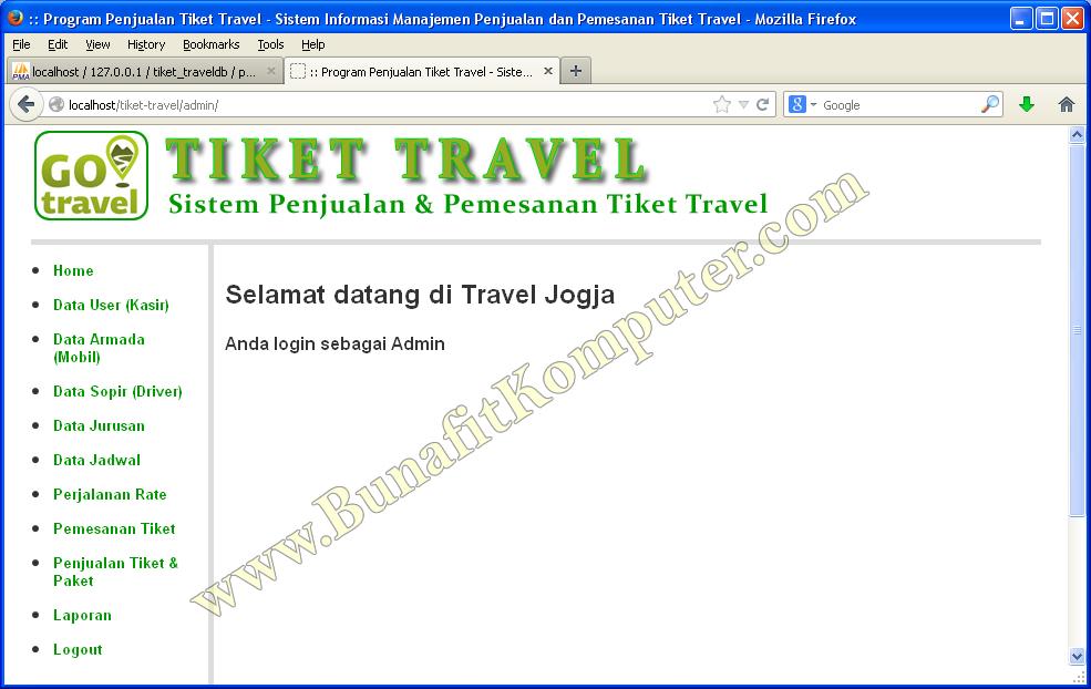Download Software Penjualan Tiket Online