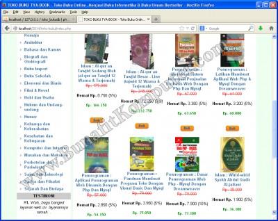 Katalog Buku 2 atau Katalog Produk Barang