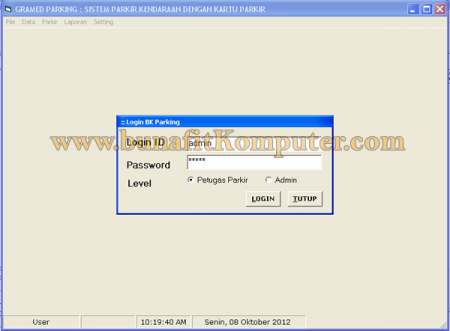 Source Code Program Parkir Visual Basic 6
