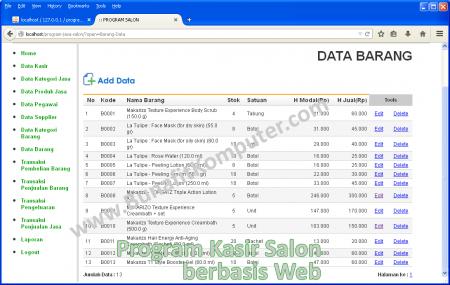 Manajemen Data Barang