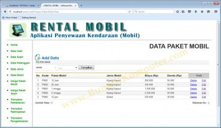 Manajemen Data Paket Mobil