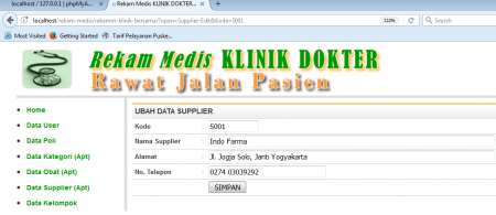 program-tambah-data-supplier-pada-aplikasi-klinik